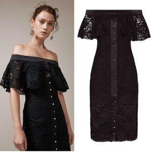KEEPSAKE the Label Star Crossed Lace Midi Dress S